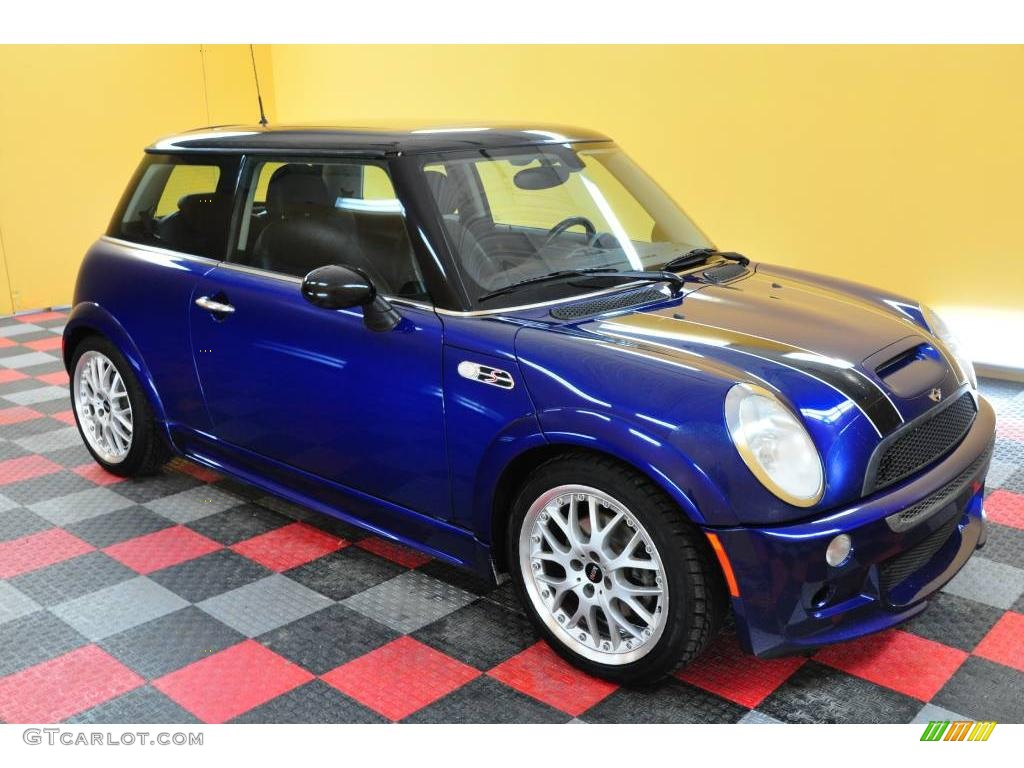 2003 indi blue metallic mini cooper s hardtop 20078630 car color galleries. Black Bedroom Furniture Sets. Home Design Ideas