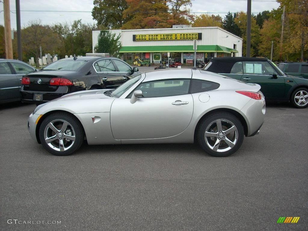 2009 Cool Silver Pontiac Solstice Gxp Coupe 20081636 Gtcarlot Com Car Color Galleries