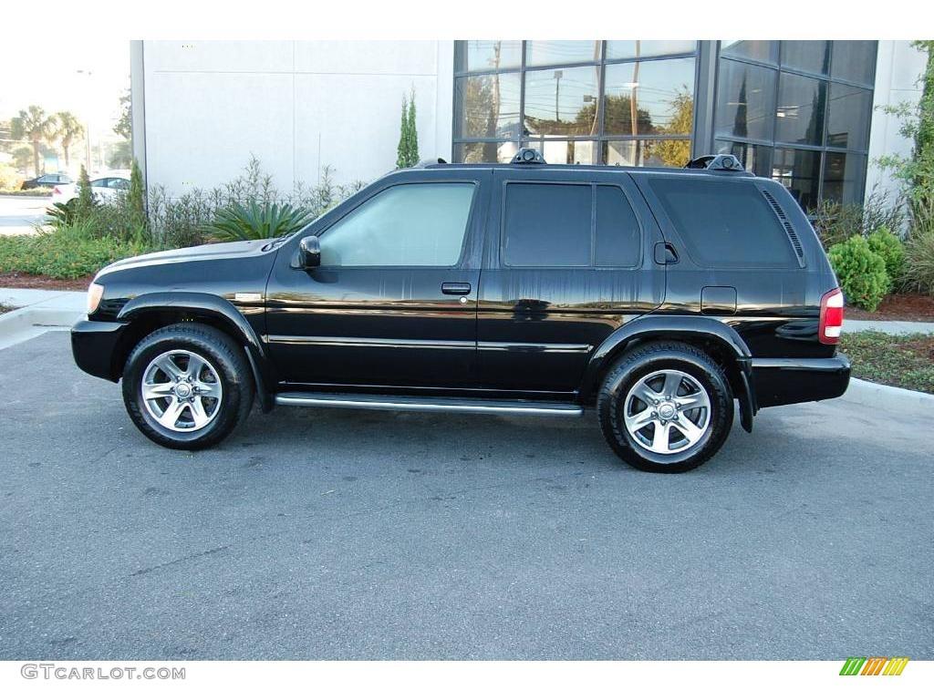 2004 super black nissan pathfinder le platinum 20078052 photo 3 car color for 2004 nissan pathfinder interior