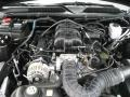 2007 Black Ford Mustang V6 Deluxe Coupe  photo #12