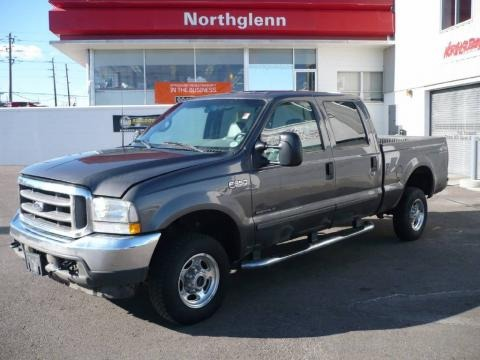 2002 Ford F350 Super Duty Lariat Crew Cab 4x4 Off Road Data, Info and Specs