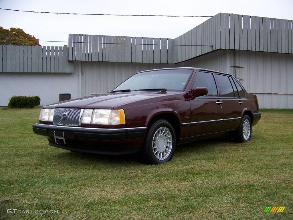 1994 red pearl metallic volvo 960 sedan 20142027 car color galleries. Black Bedroom Furniture Sets. Home Design Ideas