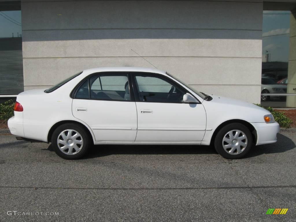 2002 super white toyota corolla le 20139829 photo 2 car color galleries. Black Bedroom Furniture Sets. Home Design Ideas