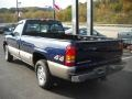 1999 Indigo Blue Metallic Chevrolet Silverado 1500 LS Regular Cab 4x4  photo #4