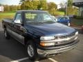 1999 Indigo Blue Metallic Chevrolet Silverado 1500 LS Regular Cab 4x4  photo #16