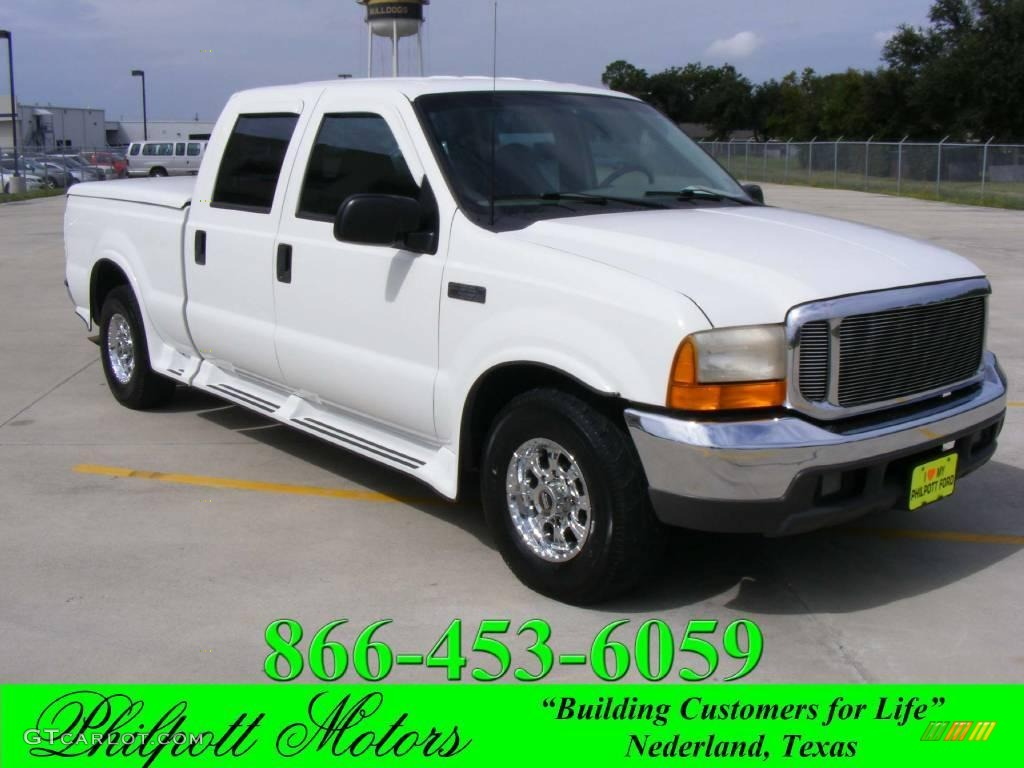 1999 Ford F250 Xl Crew Cab Super Duty News >> 1999 Oxford White Ford F250 Super Duty XLT Crew Cab #20138090 | GTCarLot.com - Car Color Galleries