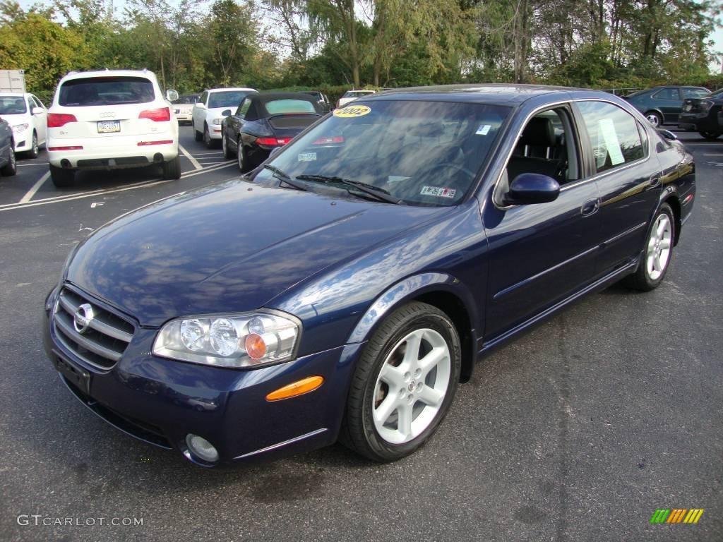Majestic Blue Metallic Nissan Maxima. Nissan Maxima SE