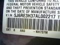 2010 Polished Metal Metallic Honda CR-V LX  photo #10