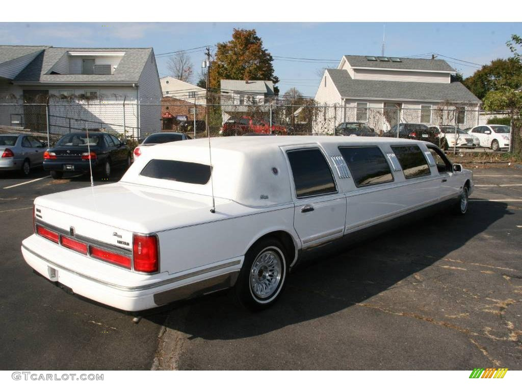 1997 Performance White Lincoln Town Car Limousine 20125094 Photo 5