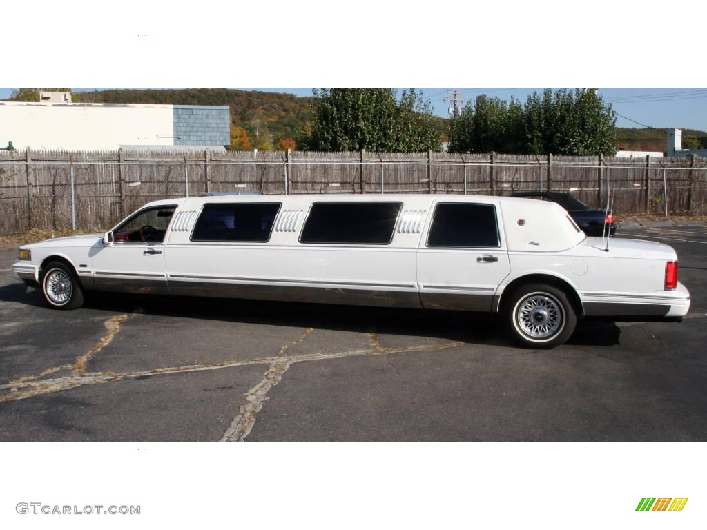 1997 Performance White Lincoln Town Car Limousine 20125094 Photo 8