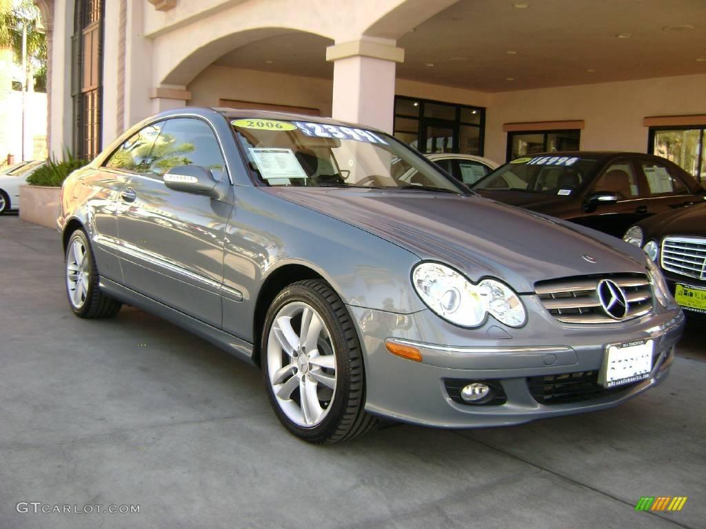 2006 granite grey metallic mercedes benz clk 350 coupe for 2006 mercedes benz clk350