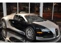 Bright Silver Metallic/Black 2008 Bugatti Veyron 16.4