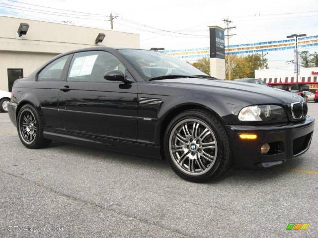 2004 jet black bmw m3 coupe 20224208 car. Black Bedroom Furniture Sets. Home Design Ideas