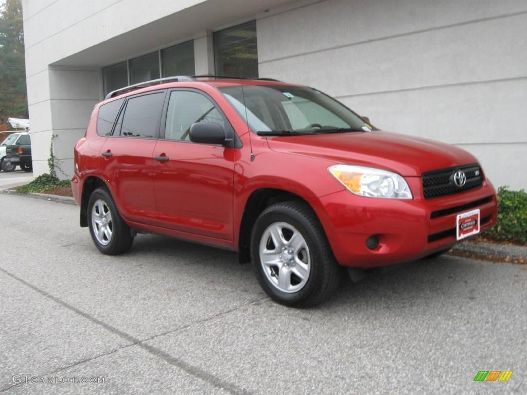 2006 barcelona red metallic toyota rav4 v6 4wd 20239120 car color galleries. Black Bedroom Furniture Sets. Home Design Ideas