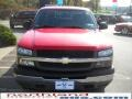 2005 Victory Red Chevrolet Silverado 1500 Extended Cab 4x4  photo #3