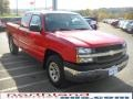 2005 Victory Red Chevrolet Silverado 1500 Extended Cab 4x4  photo #4