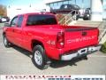 2005 Victory Red Chevrolet Silverado 1500 Extended Cab 4x4  photo #8