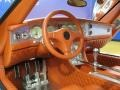 2008 C8 Laviolette SWB Tropicana Orange Leather Interior