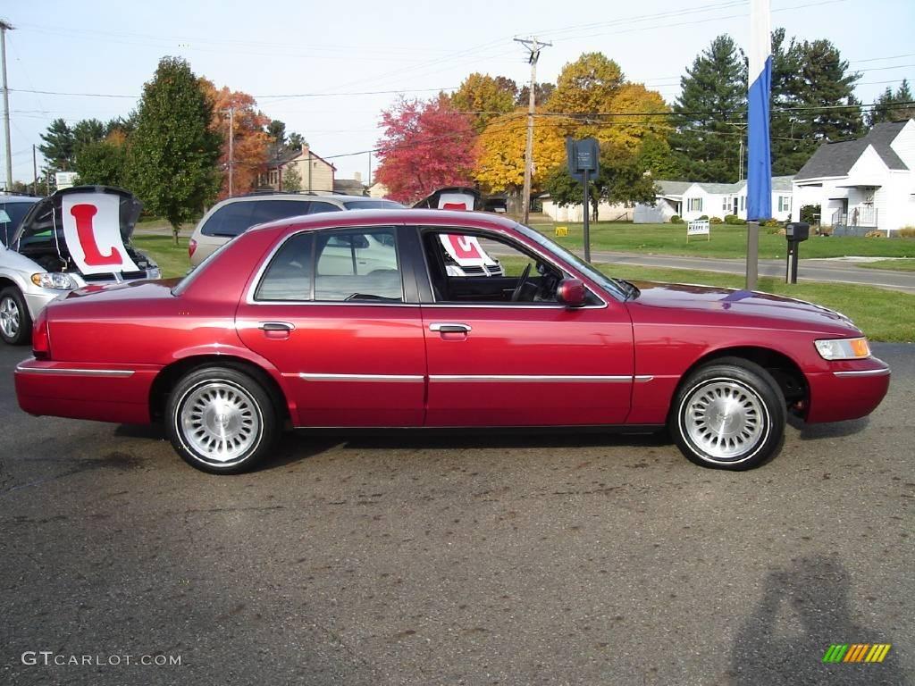 2001 toreador red metallic mercury grand marquis ls 20232377 photo 6 car. Black Bedroom Furniture Sets. Home Design Ideas