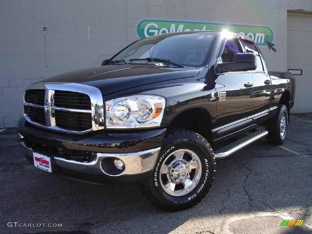 2007 ram 1500 big horn edition quad cab 4x4 electric blue pearl bed mattress sale. Black Bedroom Furniture Sets. Home Design Ideas