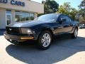 2007 Black Ford Mustang V6 Premium Convertible  photo #2