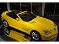 2008 SLR McLaren Roadster Yellow