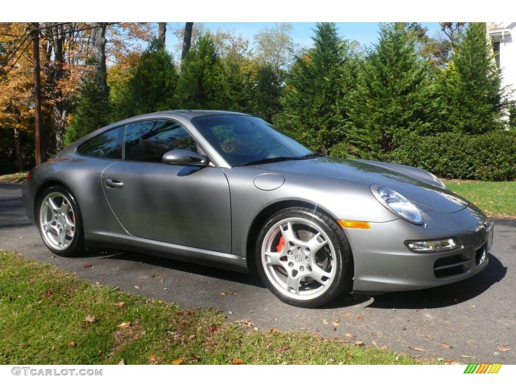 2006 seal grey metallic porsche 911 carrera 4s coupe. Black Bedroom Furniture Sets. Home Design Ideas