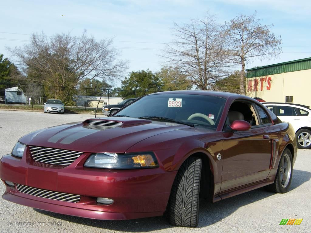 2004 40th anniversary crimson red metallic ford mustang gt coupe 2019292 car. Black Bedroom Furniture Sets. Home Design Ideas