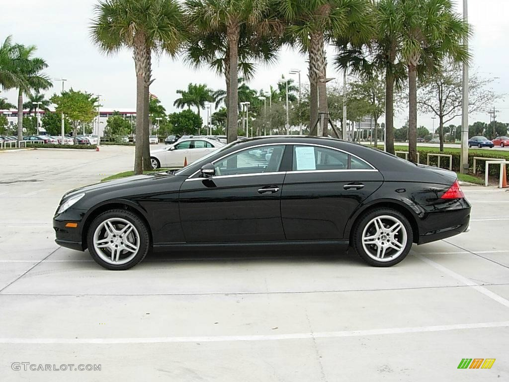 2006 Black Mercedes Benz Cls 500 2015231