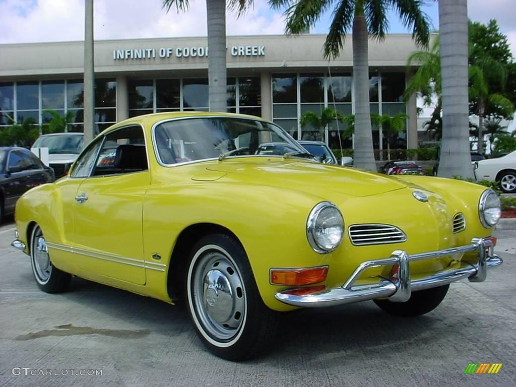 1971 canary yellow volkswagen karmann ghia coupe 20289159 car color galleries. Black Bedroom Furniture Sets. Home Design Ideas
