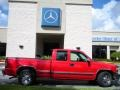 2000 Victory Red Chevrolet Silverado 1500 LS Extended Cab  photo #5