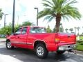 2000 Victory Red Chevrolet Silverado 1500 LS Extended Cab  photo #8