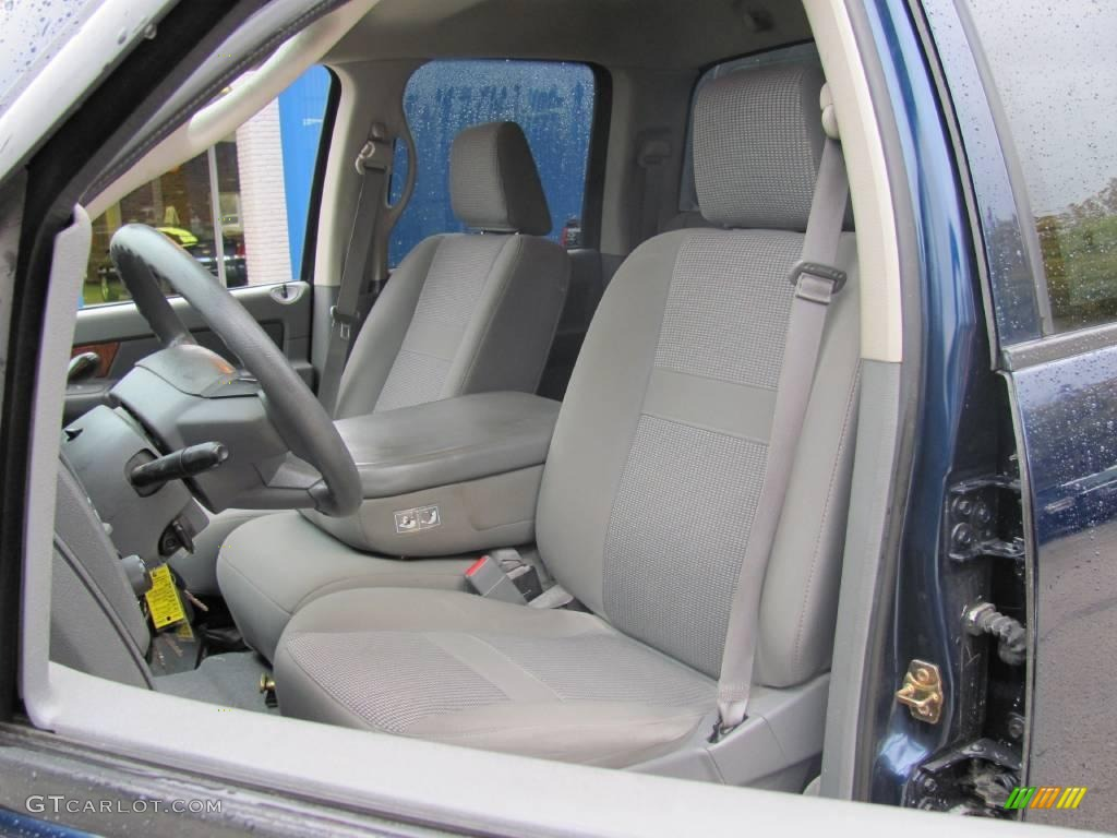2006 Ram 1500 SLT Quad Cab 4x4 - Patriot Blue Pearl / Medium Slate Gray photo #9