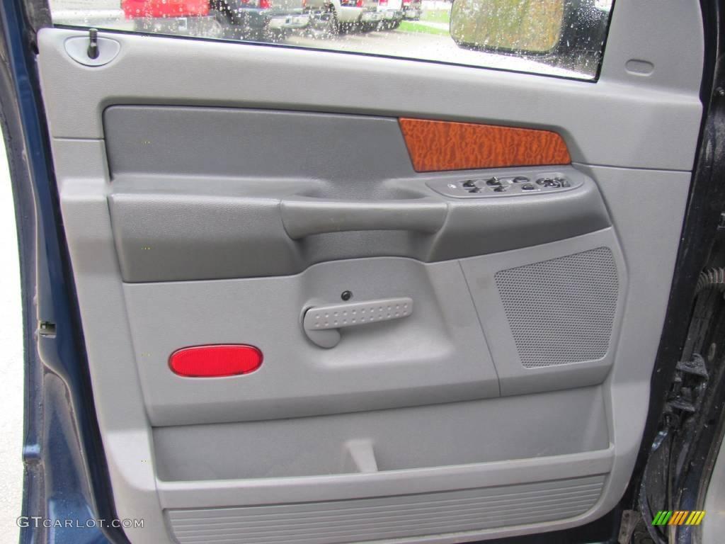 2006 Ram 1500 SLT Quad Cab 4x4 - Patriot Blue Pearl / Medium Slate Gray photo #10