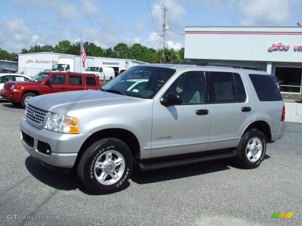 2004 silver birch metallic ford explorer xlt 20358922 gtcarlot