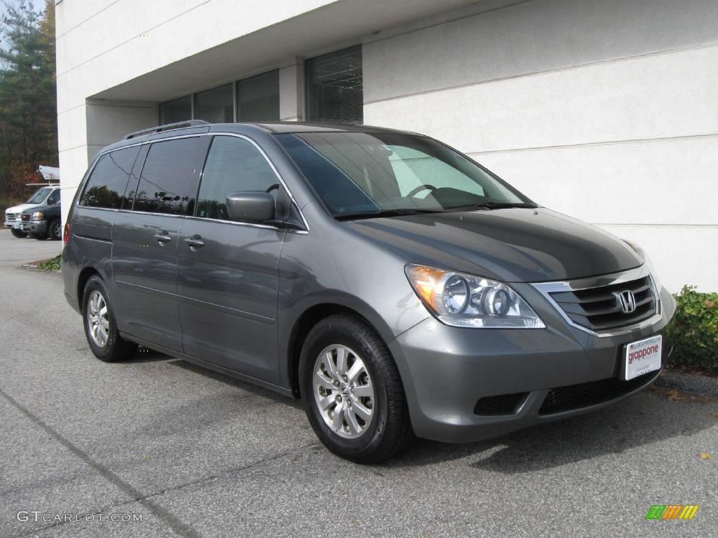 2008 Nimbus Gray Metallic Honda Odyssey Ex 20364880