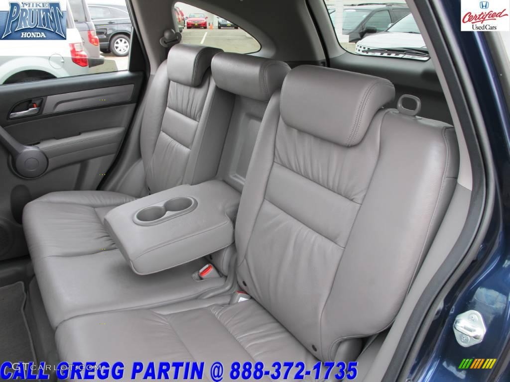 2008 CR-V EX-L 4WD - Royal Blue Pearl / Gray photo #14