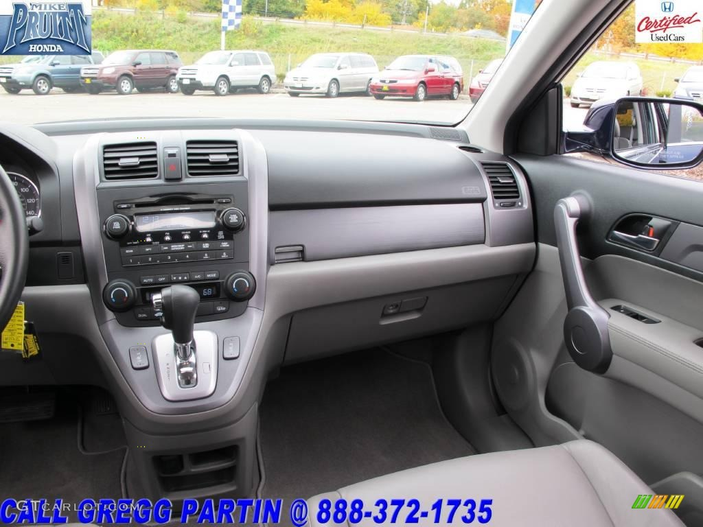 2008 CR-V EX-L 4WD - Royal Blue Pearl / Gray photo #18