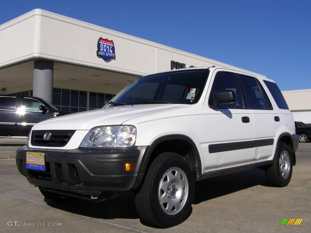 2001 Taffeta White Honda CRV LX 20357545  GTCarLotcom  Car