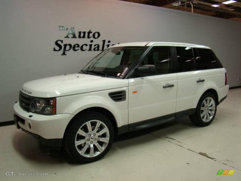 2007 chawton white land rover range rover sport hse 20368994 car color galleries. Black Bedroom Furniture Sets. Home Design Ideas