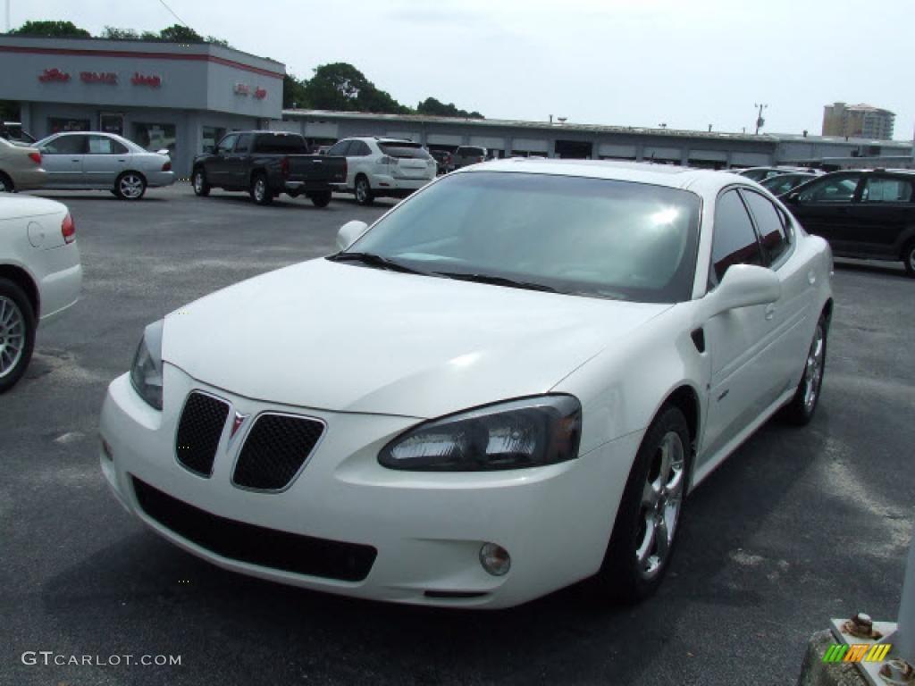 2006 Ivory White Pontiac Grand Prix Gxp Sedan 20358882