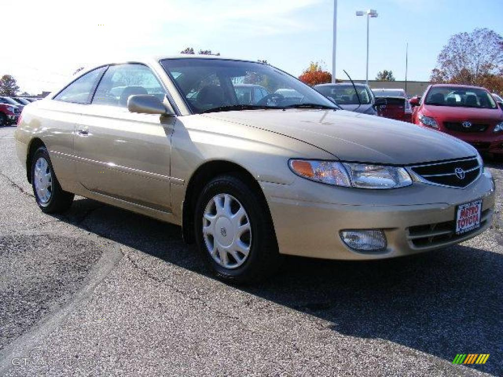 Gold dust metallic toyota solara