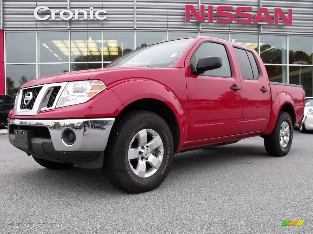 2009 red brick nissan frontier se crew cab 20458438 car color galleries. Black Bedroom Furniture Sets. Home Design Ideas