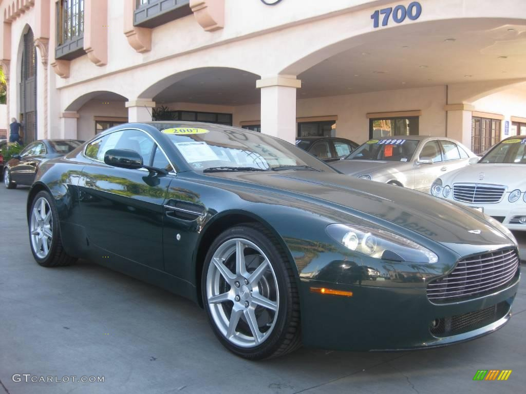 2007 Goodwood Green Aston Martin V8 Vantage Coupe