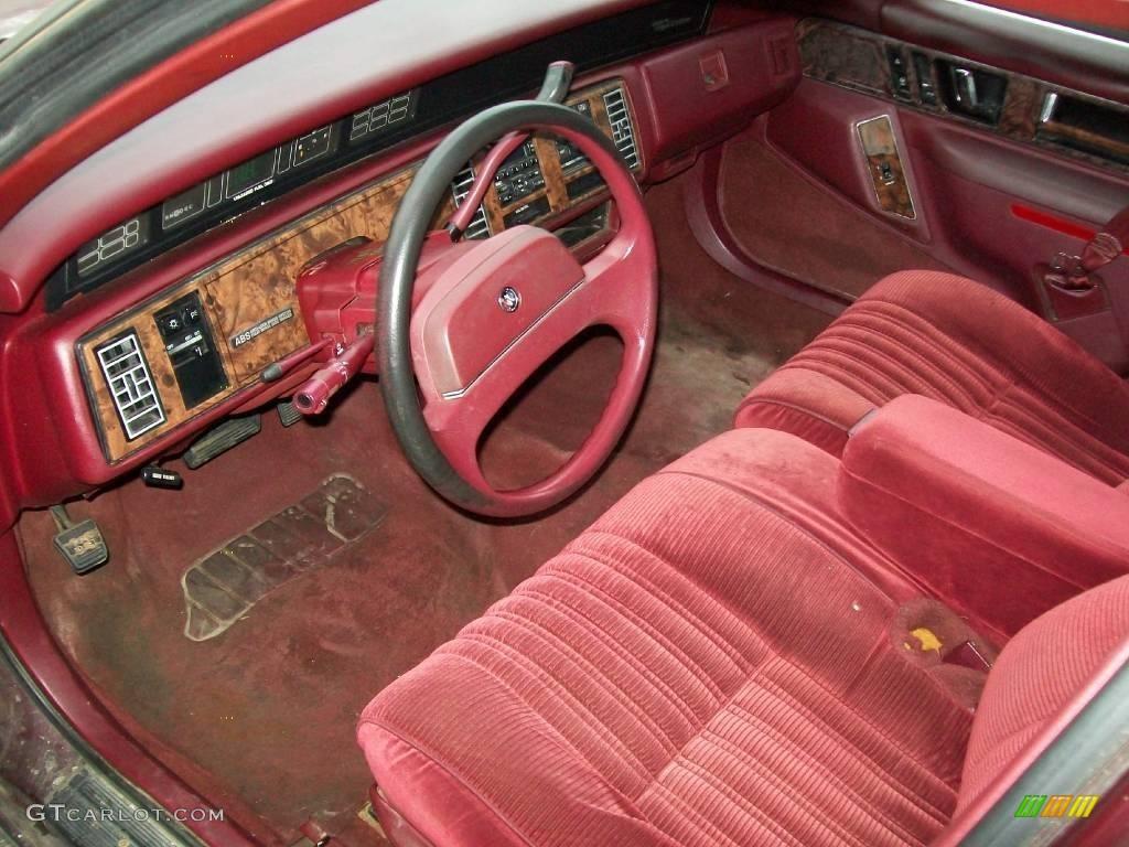 1993 buick regal interior