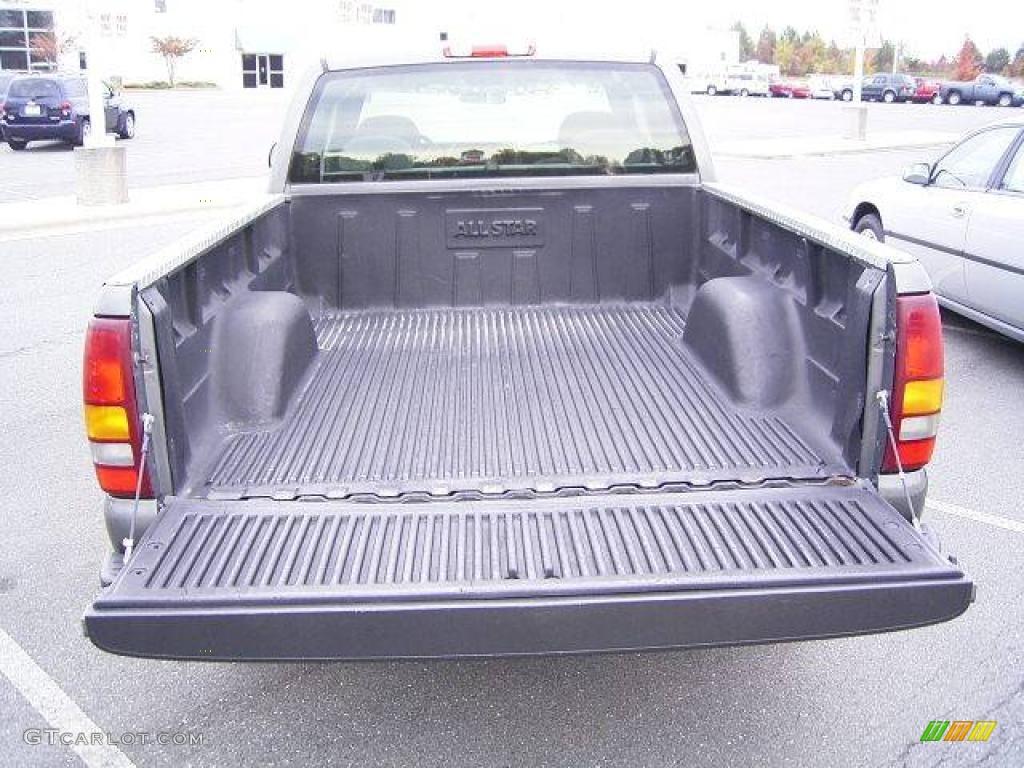 2002 Silverado 1500 LS Extended Cab - Medium Charcoal Gray Metallic / Graphite Gray photo #4
