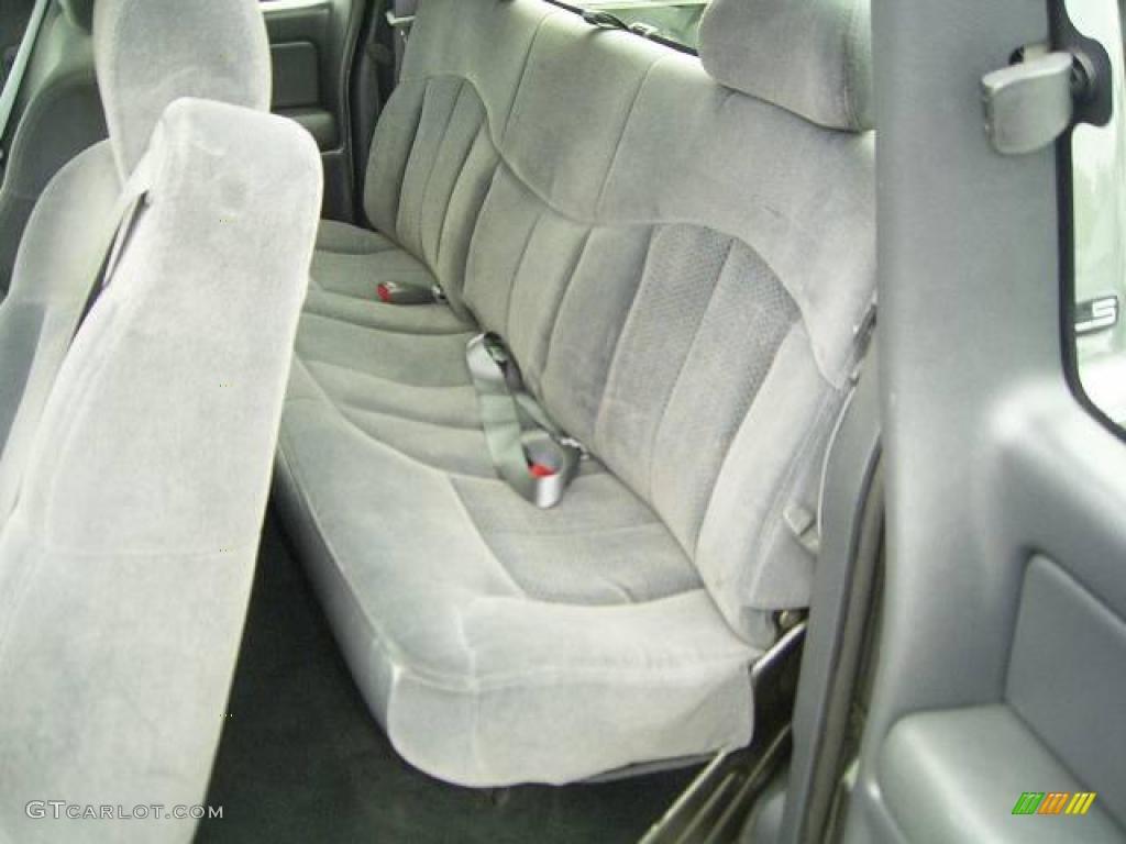 2002 Silverado 1500 LS Extended Cab - Medium Charcoal Gray Metallic / Graphite Gray photo #12