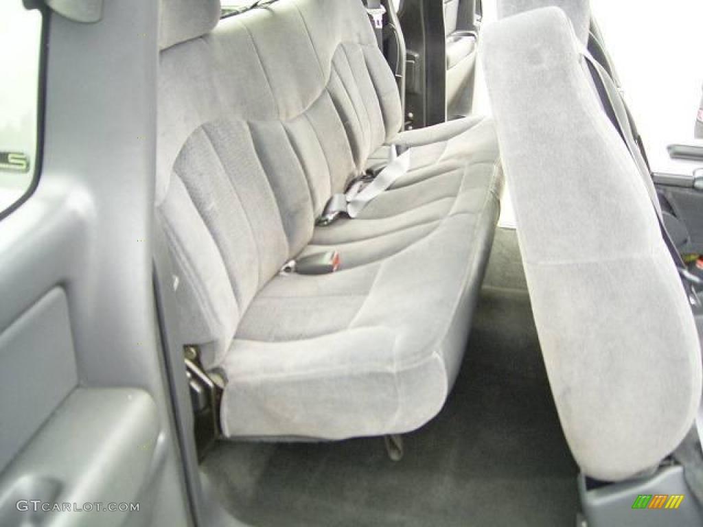 2002 Silverado 1500 LS Extended Cab - Medium Charcoal Gray Metallic / Graphite Gray photo #13