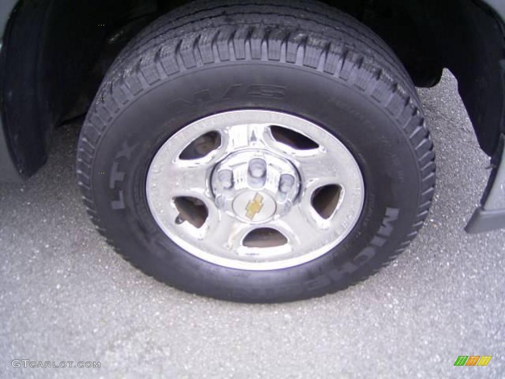 2002 Silverado 1500 LS Extended Cab - Medium Charcoal Gray Metallic / Graphite Gray photo #17
