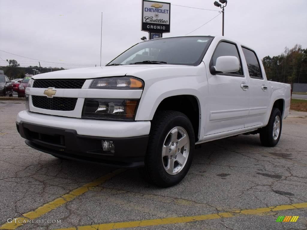 2010 summit white chevrolet colorado lt crew cab 20458403. Black Bedroom Furniture Sets. Home Design Ideas
